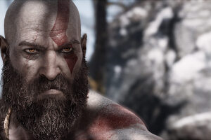 Kratos God Of War 4 Video Game Wallpaper