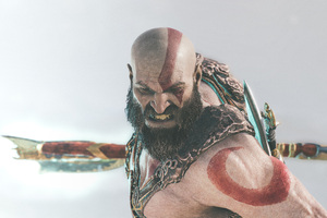 Kratos God Of War 4k 2018 Wallpaper
