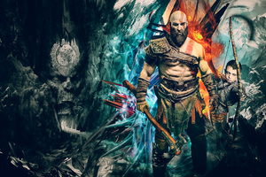 Kratos God Of War 4k Artwork Wallpaper
