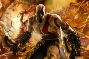 Kratos God Of War 4k Game
