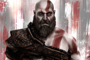Kratos God Of War 8k
