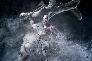 Kratos God Of War Video Game Wallpaper