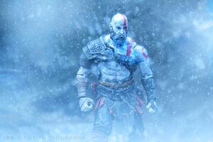 Kratos God Of War Video Game Hd