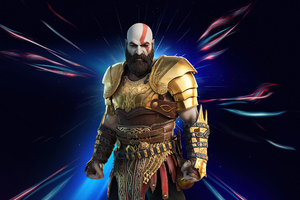 Kratos In Fortnite Chapter 2 Season 5 4k Wallpaper