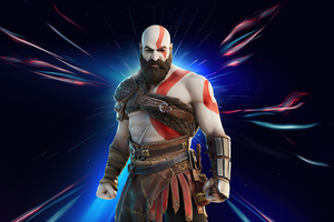 Kratos In Fortnite Chapter 2 Season 5 Wallpaper