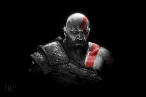 Kratos In God Of War 2018 Wallpaper