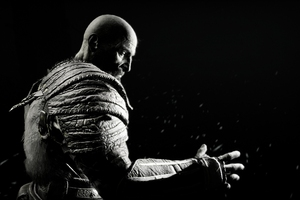 Kratos In God Of War 4K Wallpaper