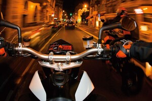 KTM In City Wallpaper