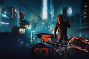Kusanagi CT 3X Rider In Cyberpunk 2077