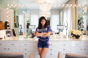 Kylie Jenner In Her House 5k Wallpaper
