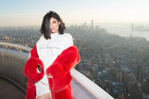 Kylie Jenner In New York Wallpaper