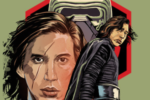 Kylo In Star Wars The Last Jedi Digital Art Wallpaper