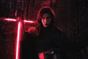 Kylo Ren 4k New Wallpaper