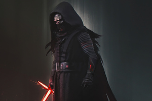 Kylo Ren Darkness 4k Wallpaper