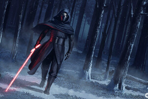 Kylo Ren Force Awakens Fan Art