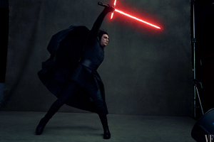 Kylo Ren In Star Wars The Last Jedi 4k Vanity Fair