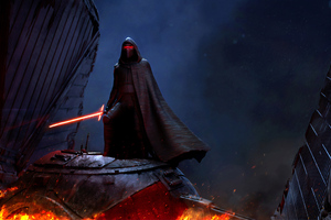 Kylo Ren Star Wars 4k Wallpaper