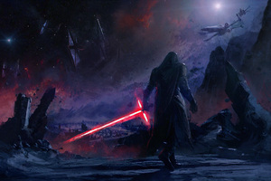 Kylo Ren Star Wars Artwork 4k