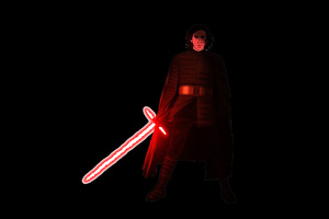 Kylo Ren Star Wars Artwork 5k Wallpaper
