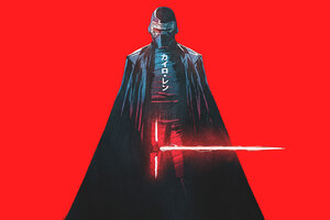 Kylo Ren Star Wars Artwork