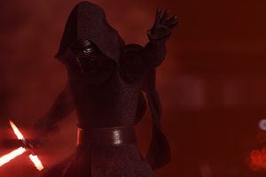 Kylo Ren Star Wars Battlefront 2 4k Wallpaper