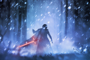 Kylo Ren Star Wars Digital Art