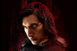 Kylo Ren Star Wars The Last Jedi 2017 Empire Magazine Wallpaper