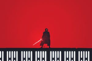 Kylo Ren Star Wars The Last Jedi Fan Art 5k Wallpaper