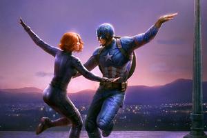 La La Avengers Wallpaper