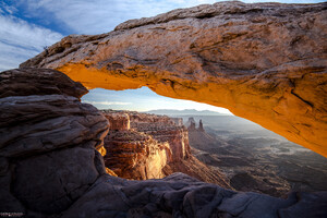 La Sal Mountain Range Arch 5k Wallpaper