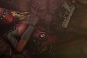 Lady Deadpool Wallpaper