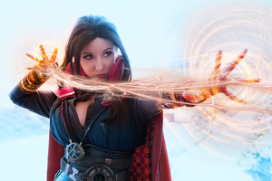Lady Doctor Strange Cosplay