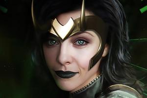 Lady Loki Wallpaper