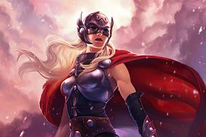 Lady Thor Art