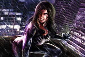 Lady Venom 4k Artwork