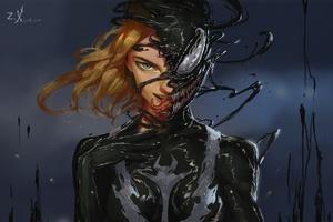 Lady Venom Art
