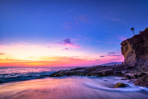 Laguna Beach Seascape Long Exposure 5k Wallpaper