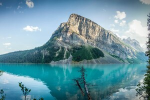 Lake Louise 4k Wallpaper