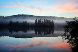 Lake Reflection Mountains Wallpaper