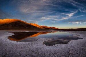 Lake Salt Flat Andes 5k Wallpaper