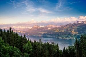 Lake Zurich 4k