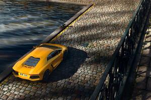 Lambo Aventador 4k