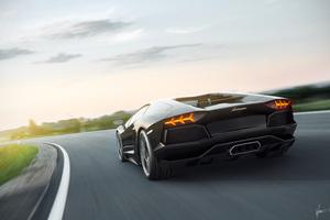 Lamborghini 8k Rear