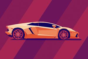 Lamborghini Abstract 5k