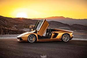 Lamborghini Aventador 4k 5k 2018