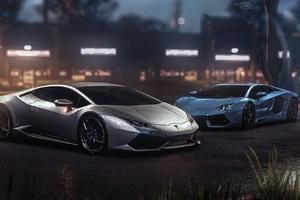 Lamborghini Aventador And Huracan GTA Online The Outrun Overdrive DLC 2018