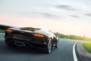 Lamborghini Aventador Art Wallpaper