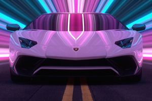 Lamborghini Aventador Cgi 5k