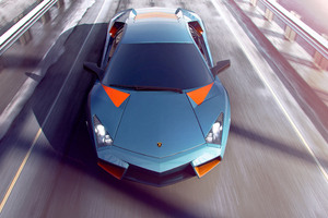 Lamborghini Aventador CGI