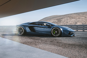 Lamborghini Aventador Concept Cgi Render 5k Wallpaper